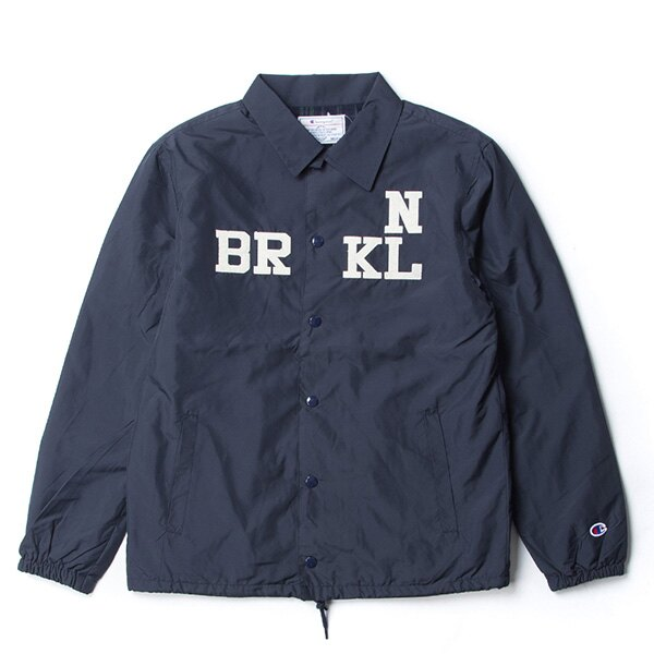 【EST】CHAMPION 日版 G605 CAMPUS 教練外套 夾克 深藍 [CH-0020-086] G0107 0