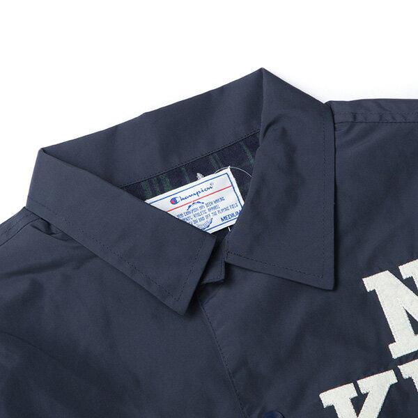 【EST】CHAMPION 日版 G605 CAMPUS 教練外套 夾克 深藍 [CH-0020-086] G0107 2
