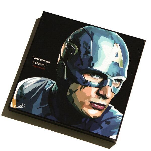 【EST】FAMOUS POP ART 普普風 掛畫 CAPTAIN AMERICA 英雄系列 美國隊長 [FS-0004-XXX] F1104 0