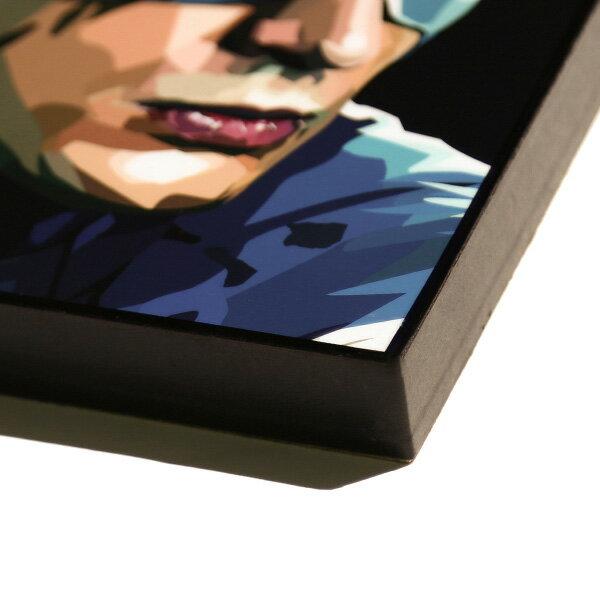 【EST】FAMOUS POP ART 普普風 掛畫 CAPTAIN AMERICA 英雄系列 美國隊長 [FS-0004-XXX] F1104 1