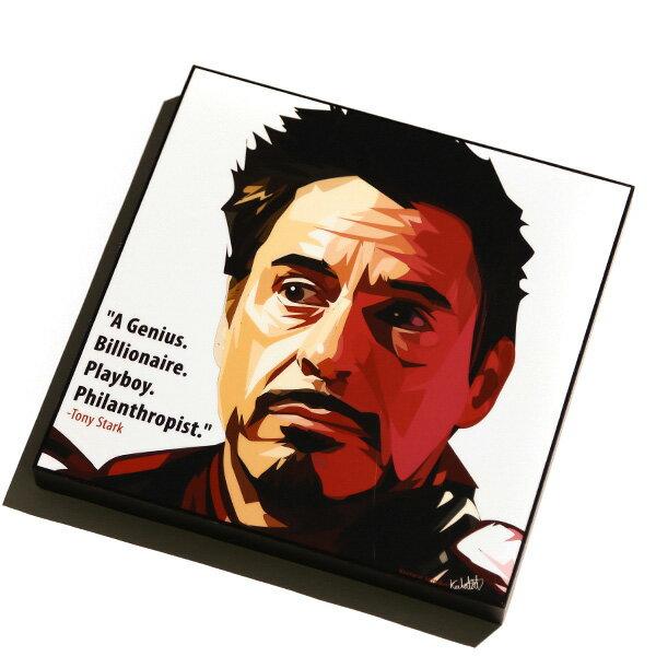 【EST】FAMOUS POP ART 普普風 掛畫 TONY STARK 鋼鐵人 東尼史塔克 [FS-0012-XXX] F1104 0