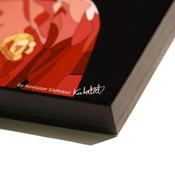 【EST】FAMOUS POP ART 普普風 掛畫 BECKHAM 足球金童 貝克漢 曼徹斯特聯 [FS-0033-XXX] F1104 1