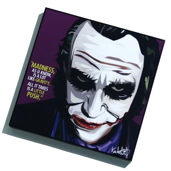 【EST】FAMOUS POP ART 普普風 掛畫 JOKER 蝙蝠俠 小丑 希斯萊傑 紫 [FS-0039-XXX] F1217 0