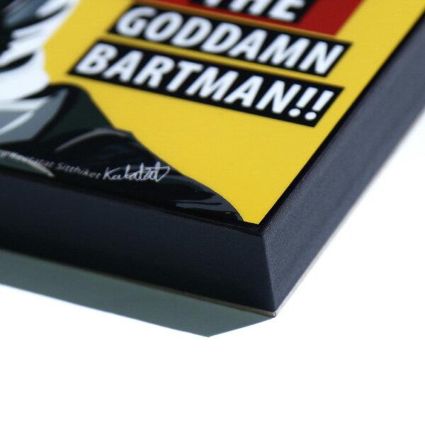 【EST】FAMOUS POP ART 普普風 掛畫 BARTMAN 辛普森家庭 蝙蝠俠 [FS-0044-XXX] F1217 1