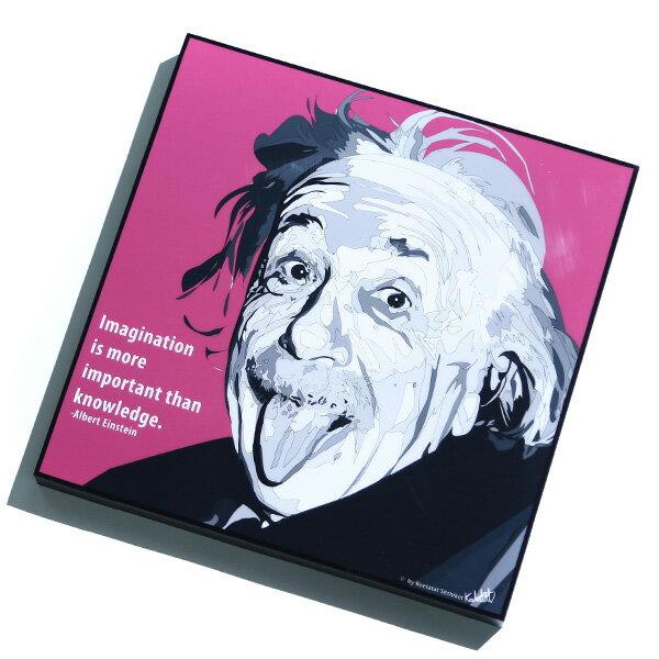 【EST】FAMOUS POP ART 普普風 掛畫 EINSTEIN 愛因斯坦 吐舌頭 [FS-0054-XXX] F1217 0