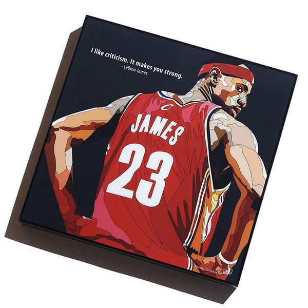 【EST】FAMOUS POP ART 普普風 掛畫 LEBRON JAMES NBA 騎士 小皇帝 詹姆士 [FS-0060-XXX] G0606 0