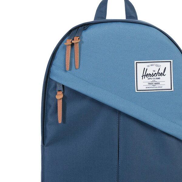 【EST】HERSCHEL PARKER 斜拉鍊 15吋電腦包 後背包 拼色 藍 [HS-0003-A58] G0414 4