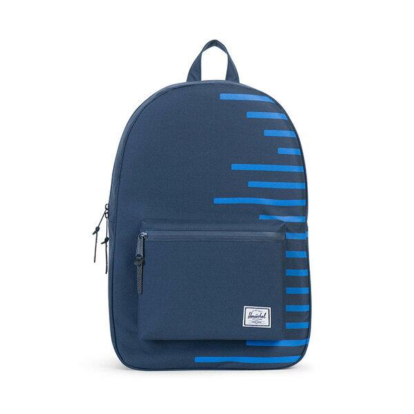 【EST】HERSCHEL SETTLEMENT 15吋電腦包 後背包 OFFSET系列 條紋 藍 [HS-0005-A42] G0414 0