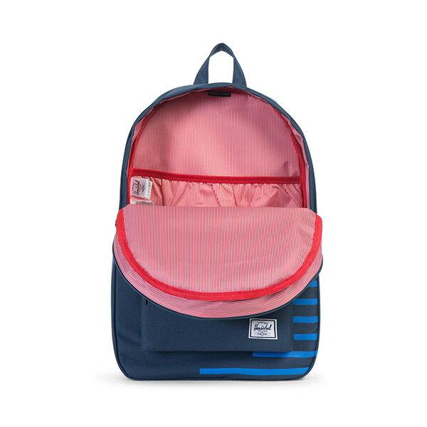 【EST】HERSCHEL SETTLEMENT 15吋電腦包 後背包 OFFSET系列 條紋 藍 [HS-0005-A42] G0414 1