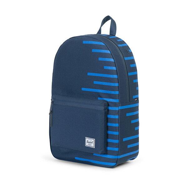 【EST】HERSCHEL SETTLEMENT 15吋電腦包 後背包 OFFSET系列 條紋 藍 [HS-0005-A42] G0414 2