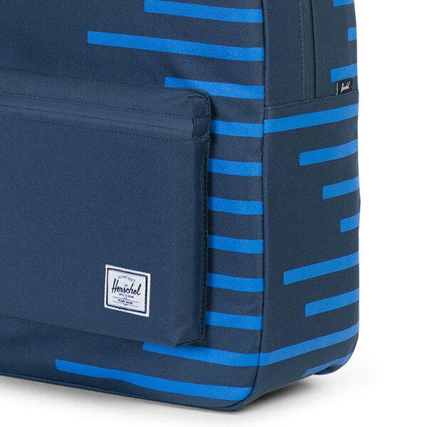 【EST】HERSCHEL SETTLEMENT 15吋電腦包 後背包 OFFSET系列 條紋 藍 [HS-0005-A42] G0414 4