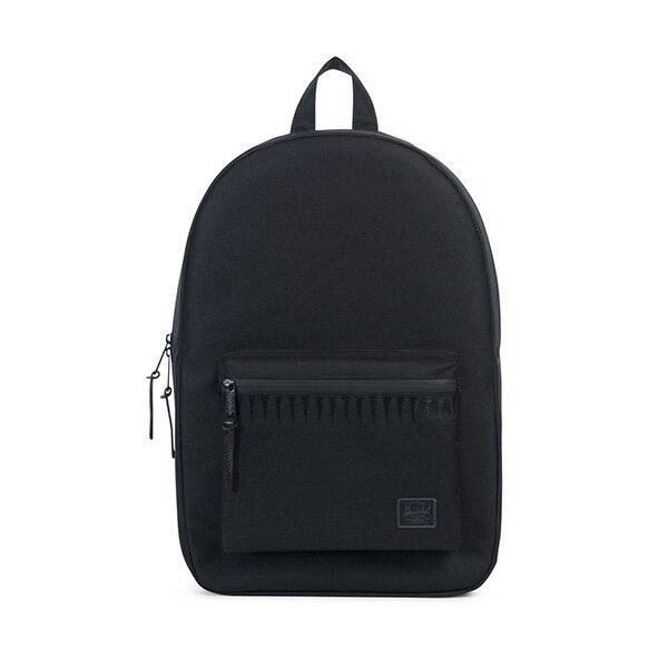 【EST】HERSCHEL SETTLEMENT 15吋電腦包 後背包 ROSWELL系列 刺繡 黑 [HS-0005-A43] G0414 0