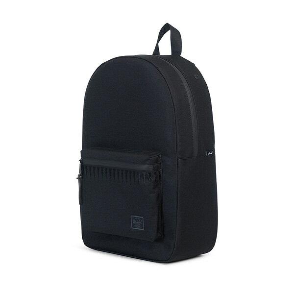 【EST】HERSCHEL SETTLEMENT 15吋電腦包 後背包 ROSWELL系列 刺繡 黑 [HS-0005-A43] G0414 2