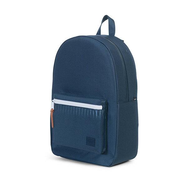 ★整點特賣限時5折★【EST】Herschel Settlement 15吋電腦包 後背包 Roswell系列 刺繡 藍 [HS-0005-A45] G0414【12/07憑優惠券代碼 SS_20161207。滿888再折100】 2