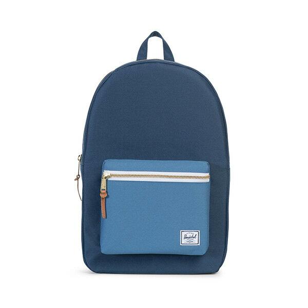 【EST】HERSCHEL SETTLEMENT 15吋電腦包 後背包 拼色 藍 [HS-0005-A58] G0414 0