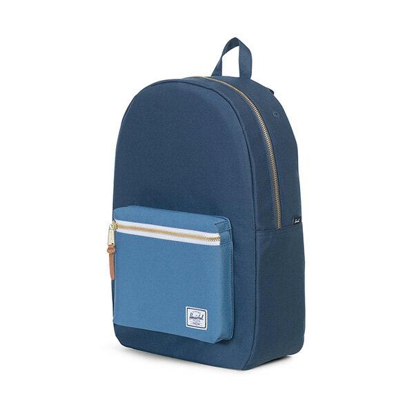【EST】HERSCHEL SETTLEMENT 15吋電腦包 後背包 拼色 藍 [HS-0005-A58] G0414 2