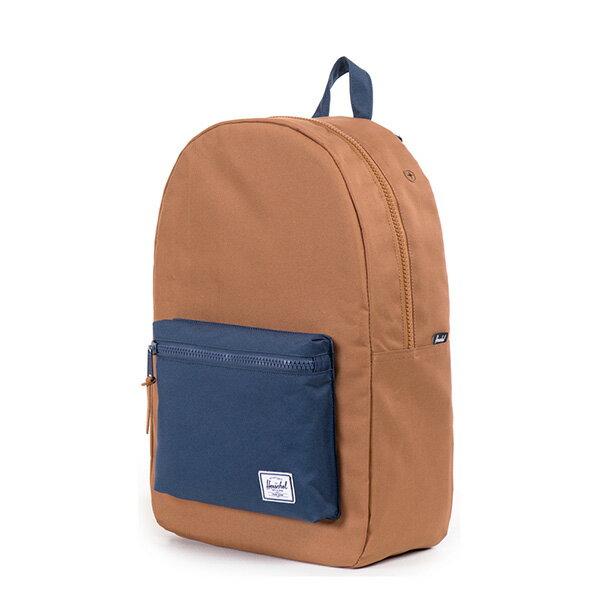 【EST】HERSCHEL SETTLEMENT 15吋電腦包 後背包 拚色 棕藍 [HS-0005-631] G0706 2