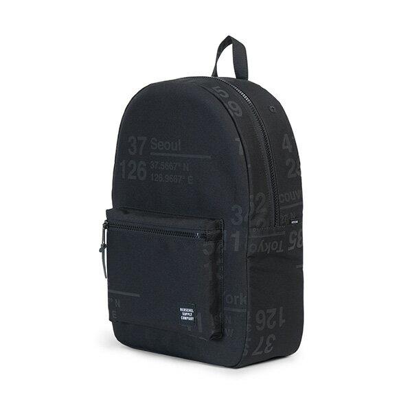 【EST】HERSCHEL SETTLEMENT 15吋電腦包 後背包 城市緯度 黑 [HS-0005-B46] G0801 2