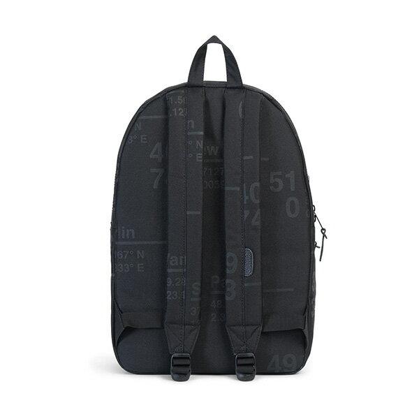 【EST】HERSCHEL SETTLEMENT 15吋電腦包 後背包 城市緯度 黑 [HS-0005-B46] G0801 3