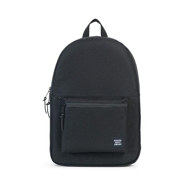 【EST】HERSCHEL SETTLEMENT 15吋電腦包 後背包 網布 黑 [HS-0005-B68] G0801 0