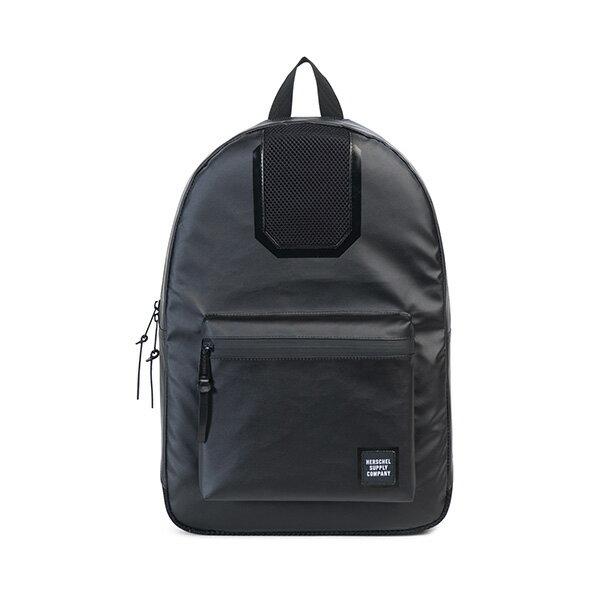 【EST】HERSCHEL SETTLEMENT 15吋電腦包 後背包 防水 尼龍 網布 黑 [HS-0005-B92] G0801 0