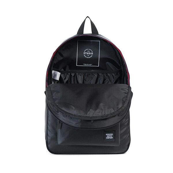 【EST】HERSCHEL SETTLEMENT 15吋電腦包 後背包 防水 尼龍 網布 黑 [HS-0005-B92] G0801 1