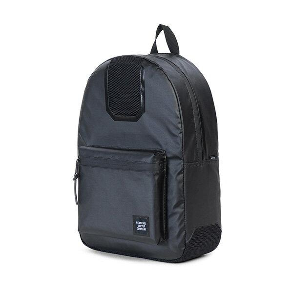 【EST】HERSCHEL SETTLEMENT 15吋電腦包 後背包 防水 尼龍 網布 黑 [HS-0005-B92] G0801 2