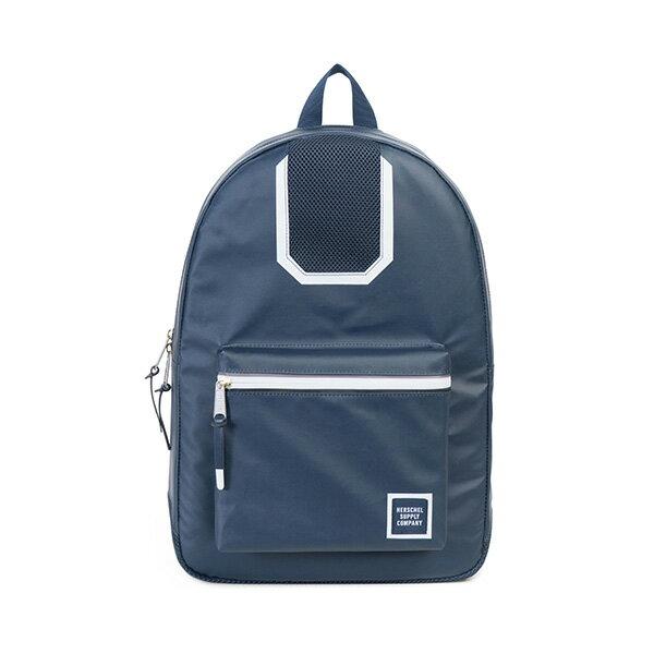 【EST】HERSCHEL SETTLEMENT 15吋電腦包 後背包 防水 尼龍 網布 藍 [HS-0005-B93] G0801