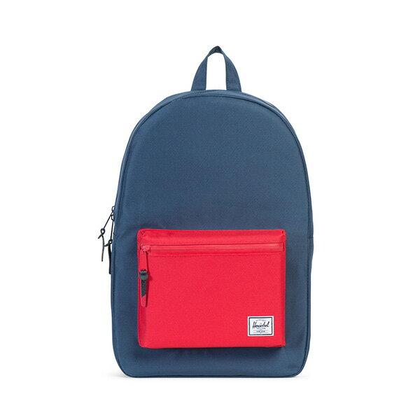 【EST】HERSCHEL SETTLEMENT 15吋電腦包 後背包 藍紅 [HS-0005-C20] G0801