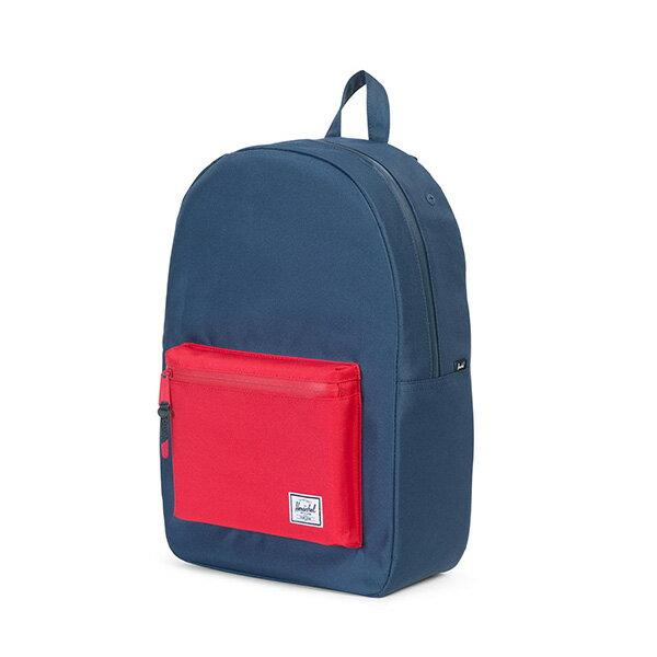 ★整點特賣限時5折★【EST】Herschel Settlement 15吋電腦包 後背包 藍紅 [HS-0005-C20] G0801【12/07憑優惠券代碼 SS_20161207。滿888再折100】 2