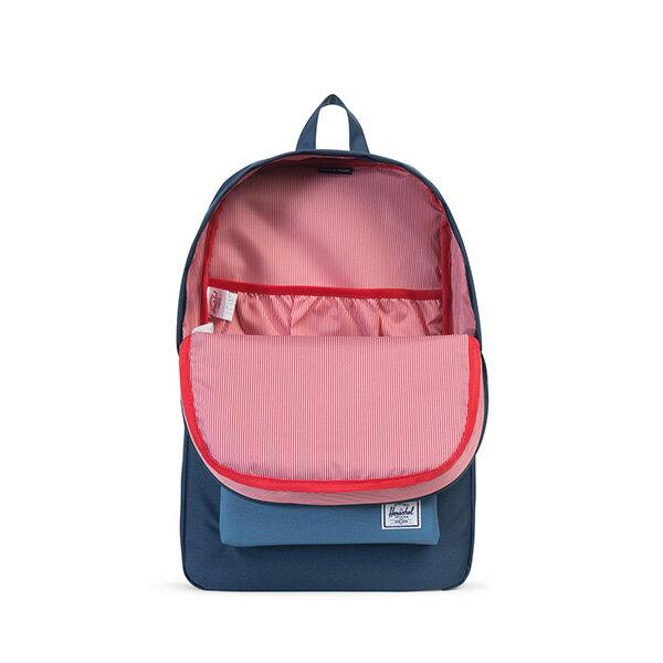 【EST】HERSCHEL HERITAGE 豬鼻 15吋電腦包 後背包 拼色 藍 [HS-0007-A58] G0414 1
