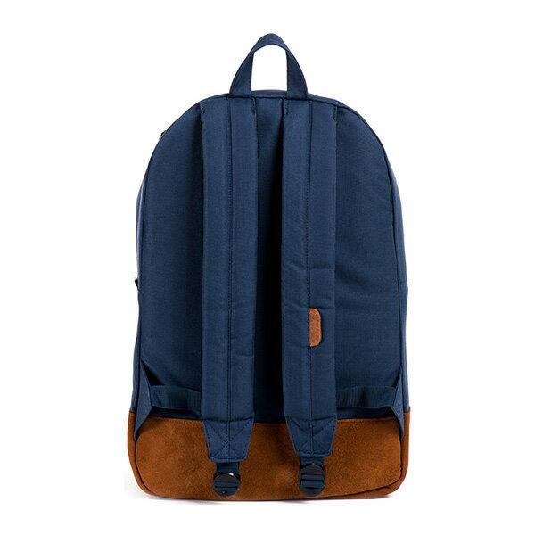 【EST】HERSCHEL HERITAGE 豬鼻 15吋電腦包 後背包 麂皮 藍 [HS-0007-199] G0706 3
