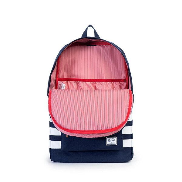 【EST】HERSCHEL HERITAGE 豬鼻 15吋電腦包 後背包 條紋 藍 [HS-0007-903] G0122 1