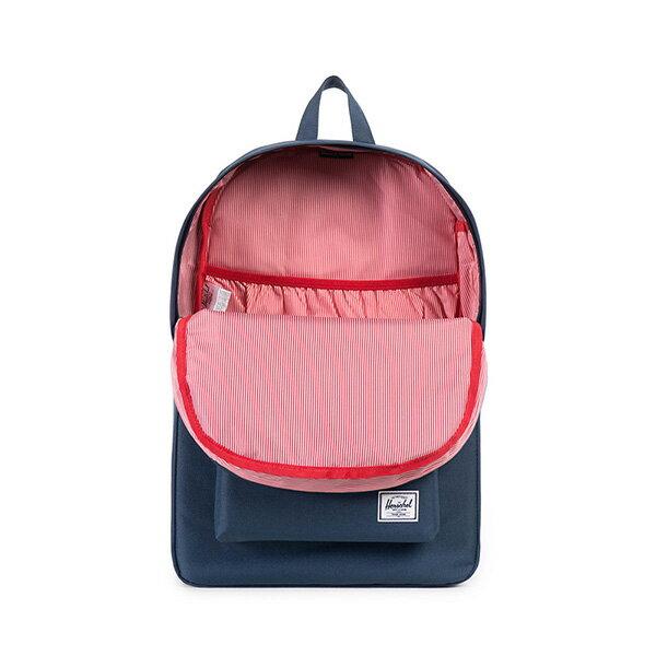 【EST】HERSCHEL HERITAGE 豬鼻 15吋電腦包 後背包 藍/紅 [HS-0007-966] G0122 1