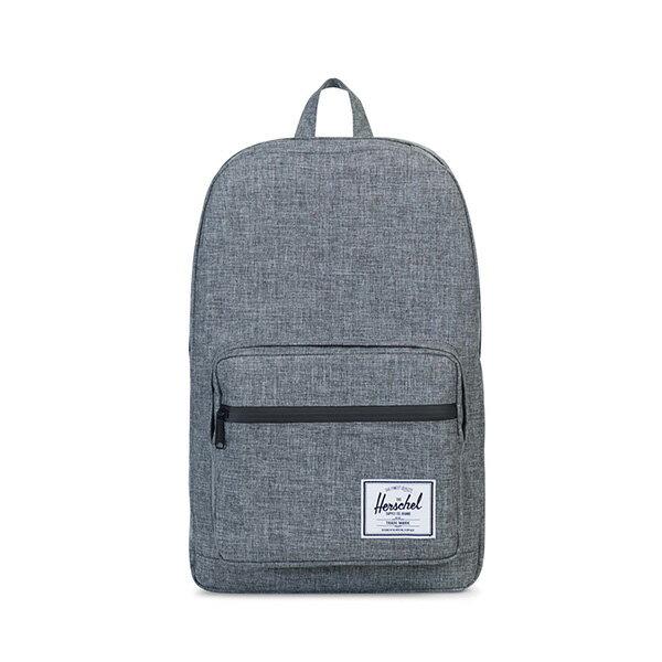 【EST】HERSCHEL POP QUIZ 15吋電腦包 後背包 十字織 灰 [HS-0011-919] G0414 0
