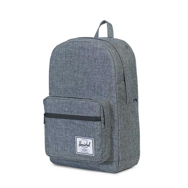 【EST】HERSCHEL POP QUIZ 15吋電腦包 後背包 十字織 灰 [HS-0011-919] G0414 2