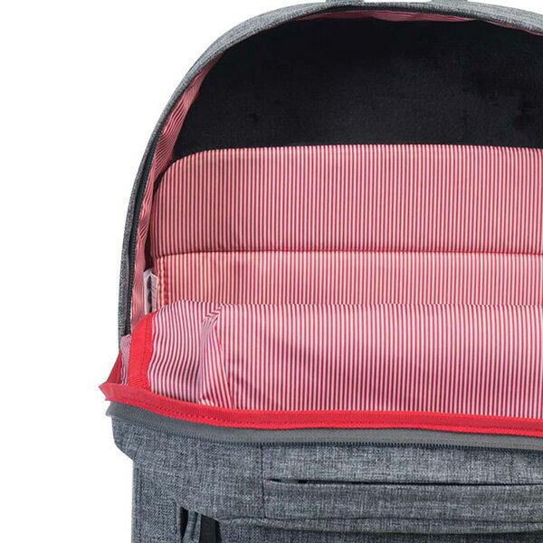 【EST】HERSCHEL POP QUIZ 15吋電腦包 後背包 十字織 灰 [HS-0011-919] G0414 5