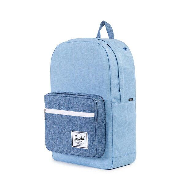 【EST】HERSCHEL POP QUIZ 15吋電腦包 後背包 丹寧 藍 [HS-0011-927] G0122 2