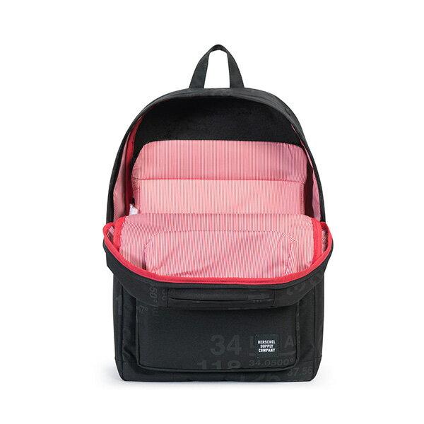 【EST】HERSCHEL POP QUIZ 15吋電腦包 後背包 城市緯度 黑 [HS-0011-B46] G0801 3