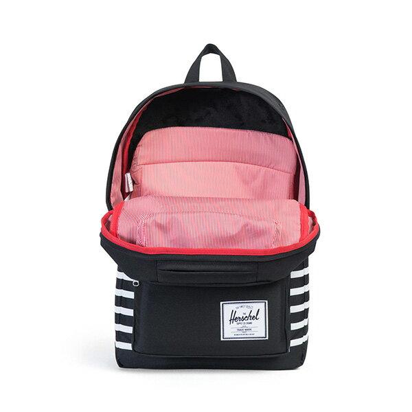 【EST】HERSCHEL POP QUIZ 15吋電腦包 後背包 條紋 黑 [HS-0011-B73] G0801 1