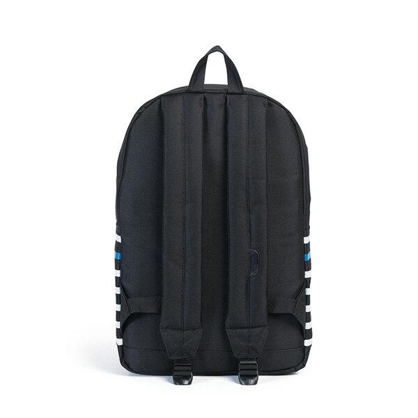 【EST】HERSCHEL POP QUIZ 15吋電腦包 後背包 條紋 黑 [HS-0011-B73] G0801 3