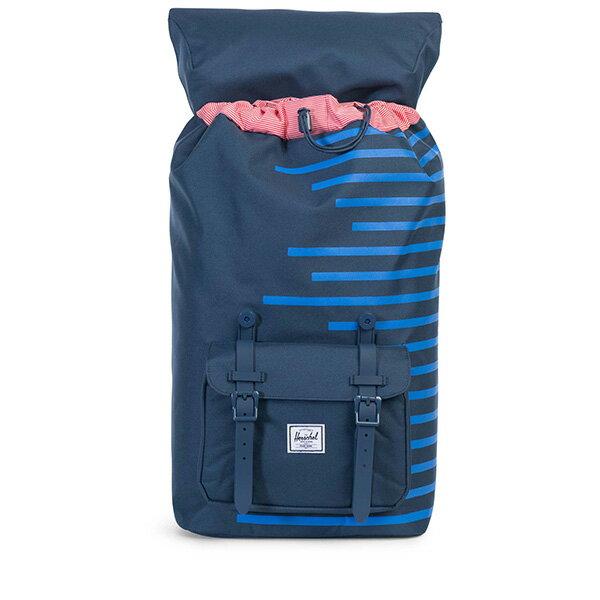 【EST】Herschel Little America 15吋電腦包 後背包 Offset系列 條紋 藍 [HS-0014-A42] G0414 1