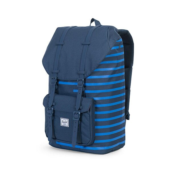 【EST】Herschel Little America 15吋電腦包 後背包 Offset系列 條紋 藍 [HS-0014-A42] G0414 2