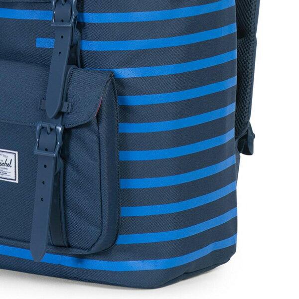 【EST】Herschel Little America 15吋電腦包 後背包 Offset系列 條紋 藍 [HS-0014-A42] G0414 4