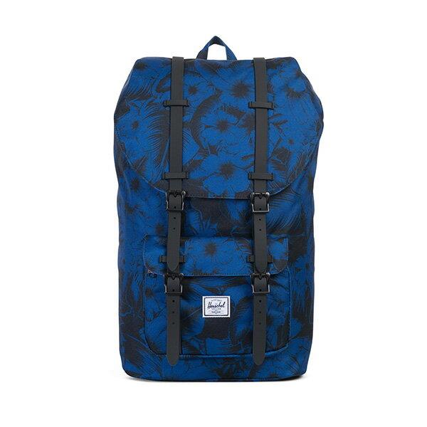 【EST】HERSCHEL LITTLE AMERICA 15吋電腦包 後背包 叢林 花卉 藍 [HS-0014-A56] G0414 0