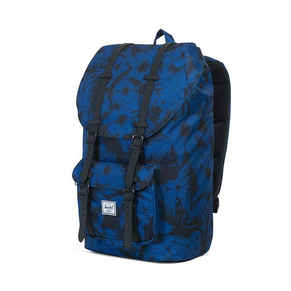 【EST】HERSCHEL LITTLE AMERICA 15吋電腦包 後背包 叢林 花卉 藍 [HS-0014-A56] G0414 2