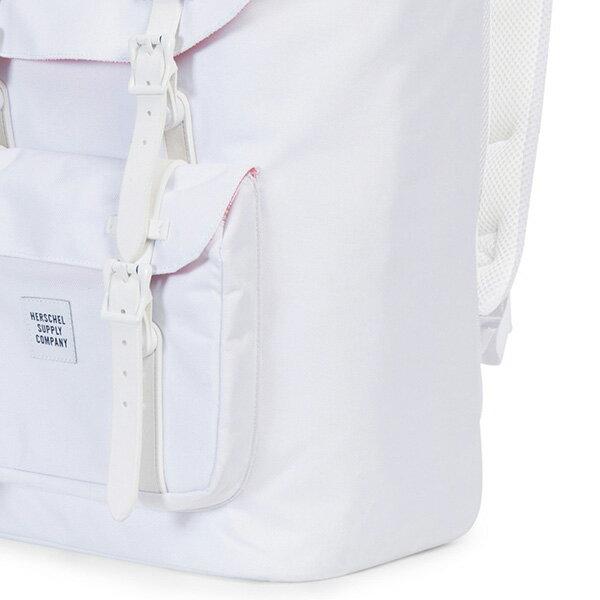 【EST】HERSCHEL LITTLE AMERICA 15吋電腦包 後背包 STUDIO系列 白 [HS-0014-A95] G0414 4