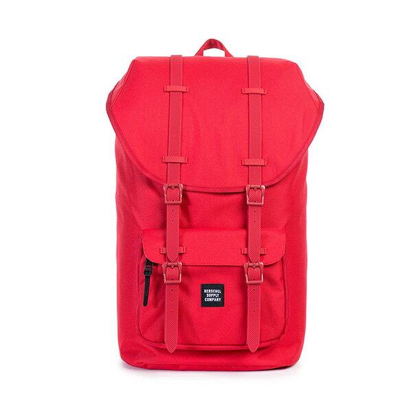 【EST】HERSCHEL LITTLE AMERICA 15吋電腦包 後背包 紅 [HS-0014-900] G0122 0