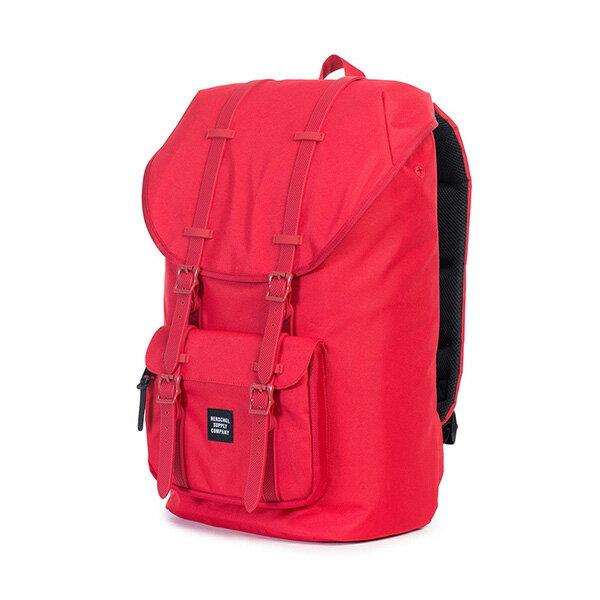 【EST】HERSCHEL LITTLE AMERICA 15吋電腦包 後背包 紅 [HS-0014-900] G0122 2