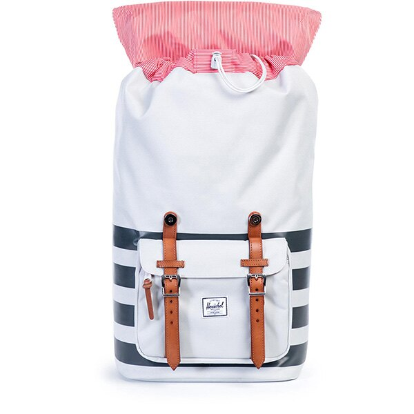 【EST】HERSCHEL LITTLE AMERICA 15吋電腦包 後背包 條紋 白 [HS-0014-904] G0122 1